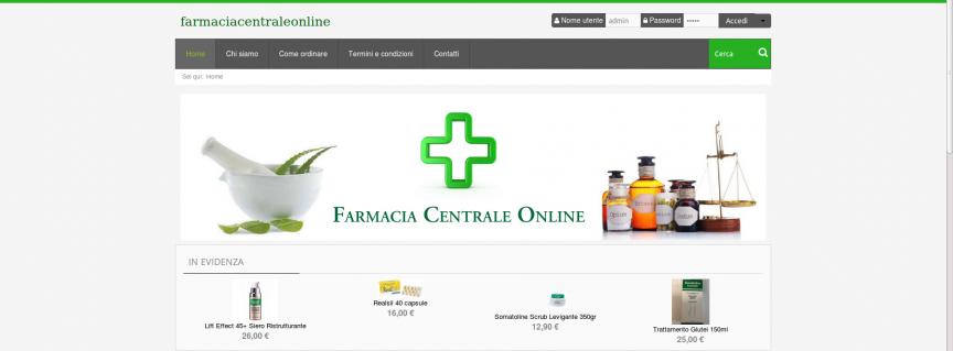 Farmacia Centrale Online