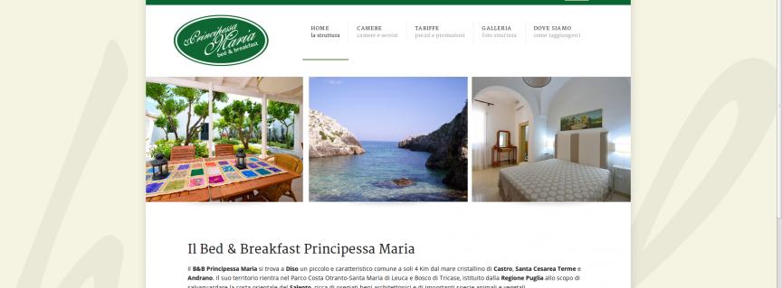 Bed & Breakfast Principessa Maria Diso